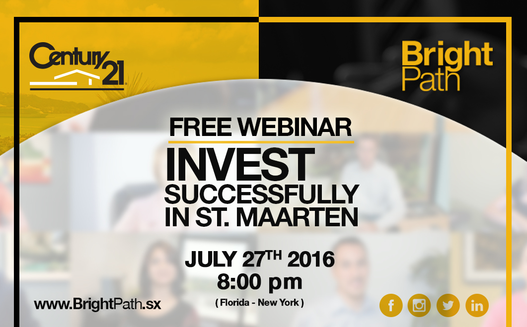 FREE WEBINAR: Invest Successfully in St. Maarten