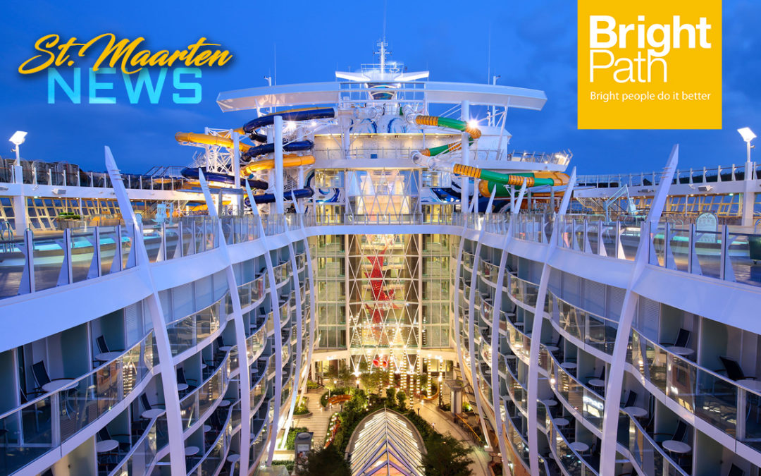 World's Biggest Cruise Ship Harmony of the Seas to make Inaugural Call in St. Maarten