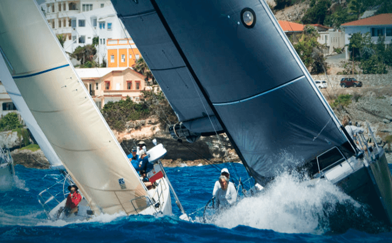 This year's St Maarten's Heineken Regatta. Serious Fun!